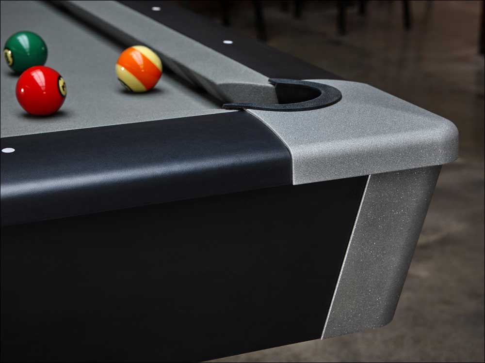 Brunswick Black Wolf Pro Pool Table - Click Image to Close