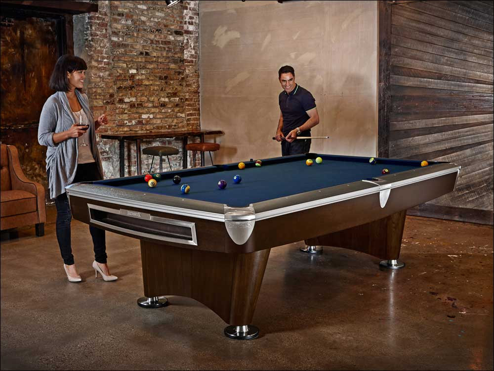 Brunswick Gold Crown VI Pool Table - Click Image to Close